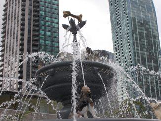 Berczy Dog Fountain